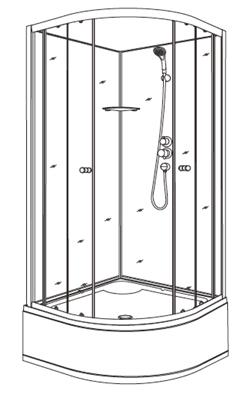 Инструкция по сборке, установке и обслуживанию душевых кабин Niagara TAPO (